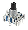Alps Alpine, 7 Position SP7T Rotary Switch, 300