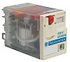 Schneider Electric, 120V ac Coil Non-Latching Relay DPDT,