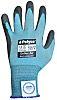 BM Polyco Dyflex, Blue Polyurethane Coated Work Gloves,