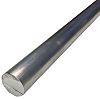 6082-T6 Aluminum Round Bar, 25mm x 1m