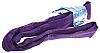 RS PRO 5m Violet Lifting Sling Round, 1t