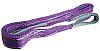 RS PRO 6m Violet Lifting Sling Webbing, 1t