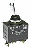 NKK Switches SPDT Toggle Switch, (On)-Off-(On), IP60, IP67,