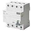 Siemens, 40A Instantaneous RCD, Trip Sensitivity 30mA, Type A, DIN Rail