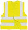 RS PRO Yellow Hi Vis Vest, M
