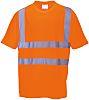 RS PRO Orange Unisex Hi Vis T-Shirt, L