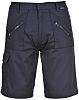 RS PRO Navy Unisex's Polycotton Shorts Waist Size