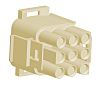 TE Connectivity, Universal MATE-N-LOK Male Connector Housing,