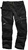 Scruffs 3D Trade Grey Men's Cotton, Polyester Trousers 36in