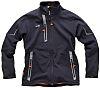 Scruffs Pro Black Elastane, Polyester Men's Work Jacket,