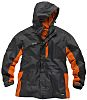 Scruffs Worker Grey/Orange Men's Work Jacket, XL