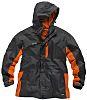 Scruffs Worker Grey/Orange Men's Work Jacket, XXL