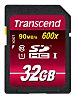 Transcend 32 GB SDHC SD Card