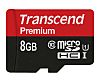 Transcend 8 GB MicroSDHC, MicroSDXC Card Class 10,
