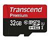 Transcend 32 GB MicroSDHC Card Class 10, UHS-1