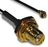 Radiall Black Male MML to Female SMA Coaxial