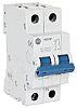 Allen Bradley 1492 10A MCB Mini Circuit Breaker2P Curve C, Breaking Capacity 10 kA