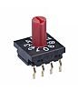 NKK Switches, 10 Position, BCD Rotary Switch, 100