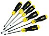 Stanley Engineers Parallel, Phillips, Slotted Screwdriver Set 6