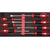 RS PRO Standard Phillips, Slotted Screwdriver Set 7
