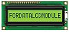 Fordata FC1601E01-FHYYBW-51LE FC Alphanumeric LCD Alphanumeric