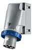 RS PRO IP67 Blue Wall Mount 2P+E Industrial