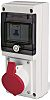 RS PRO IP67 Red Wall Mount 3P+N+E Industrial