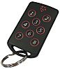 RF Solutions 8 Button Remote Control Fob, FOBBER-8T8,