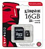 Kingston 16 GB MicroSDHC Card Class 10, UHS-1