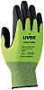 Uvex C500 foam, Green HPE Coated Work Gloves,