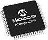 Microchip ATMEGA329PA-AU, 8bit AVR Microcontroller, ATmega,