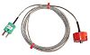 RS PRO Type K Thermocouple 1in Diameter, -50°C