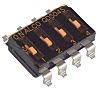 4 Way Surface Mount DIP Switch SPST
