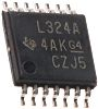 OPA4172IPW Texas Instruments, Precision, Op Amp, RRO, 10MHz,