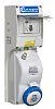 Europa Switchable IP44, IP65 Industrial Interlock Socket 2P+E,