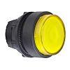 Schneider Electric Raised Yellow - Momentary, Harmony XB5 Series, 22mm Cutout, Round