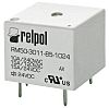 Relpol, 5V dc Coil Non-Latching Relay SPDT, 15A
