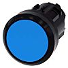Siemens Flat Blue Push Button - Latching, SIRIUS
