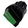 Siemens SIRIUS ACT Selector Switch - 2 Position, Momentary, 22mm cutout