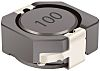 Bourns, SRR1050A Shielded Wire-wound SMD Inductor with a