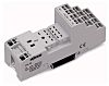 Wago 6 Pin Relay Socket, DIN Rail, Screw