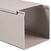 Betaduct Grey Industrial Trunking - Closed Slot, W50