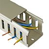 Betaduct Grey Slotted Panel Trunking - Closed Slot,