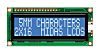 Midas MC21605G6WD-BNMLW-V2 G Alphanumeric LCD Display, Blue on