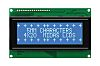 Midas MC24005A6W-BNMLW-V2 A Alphanumeric LCD Display, Blue on
