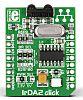 MikroElektronika, IrDA2 click IR Remote Control Board, UART