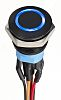 2-pole on-off switch Momentary Push Button Switch, IP67,