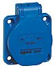 Legrand IP44 Blue Panel Mount 2P+E Industrial Power
