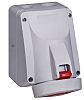 Legrand IP67 Red Wall Mount 3P+N+E Right Angle