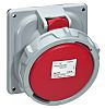 Legrand IP67 Red Panel Mount 3P+N+E Industrial Power
